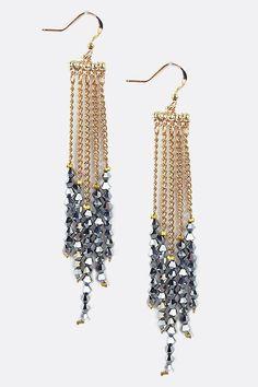 DIY Jewelry: Shimmer Crystal Chandelier Earrings  https://diypick.com/fashion/diy-jewelry/diy-jewelry-shimmer-crystal-chandelier-earrings/