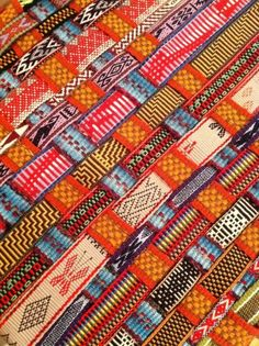The inkle weaving of my friend, Yonat from Santa Cruz, CA.  - This is something i have wanted to experiment with for a long time it has the same feel as Kente cloth