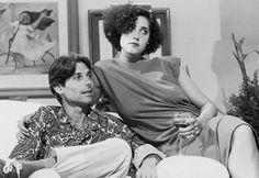 """Moda das novelas dos anos 80 - O cabelo mais esquisito de 1985 - sim, também teve um - foi o de Christiane Torloni em """"A Gata Comeu"""". Na época, foi um sucesso!"""