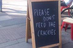 Donald Trump ganó y en Londres pusieron este divertido letrero afuera de una cafetería