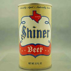 shiner 124-20 pull tab beer can 1