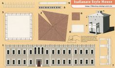Italianate Style House - Cut Out Postcard by Shook Photos, via Flickr