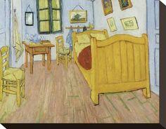 Vincent van Gogh The Bedroom at Arles painting, oil on canvas & frame; Vincent van Gogh The Bedroom at Arles is shipped worldwide, 60 days money back guarantee. Art Van, Van Gogh Art, Vincent Van Gogh, Van Gogh Museum, Van Gogh Pinturas, Google Art Project, Famous Artwork, Cat Art Print, Van Gogh Paintings