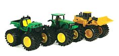 John Deere Monster Treads 5 Inch Vehicle Assortments TBEK37596 - Scruggsfarm.com