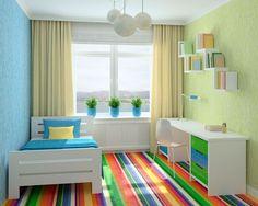 habitacion juvenil útil para chicos o chicas