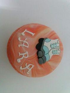 Una tarta con ruedas....
