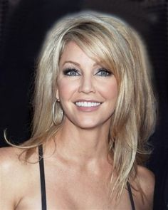 Layered hair - heather locklear