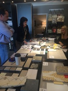 Final design presentation! Tile, granite, window treatments, paint colors and more! #DesignHomePHL