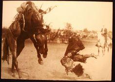 Bonnie McCarroll Thrown from Silver 1916 Info Card | eBay