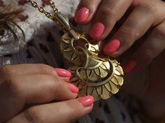 Vintage pendant | www.ladymelbourne.com.au