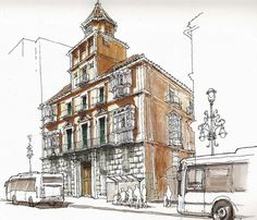 Málaga, Alameda Principal 18 by Luis Ruiz Padrón