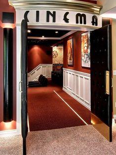 Small Home Theater Contemporary Media Room Minneapolis Level Design Studios Decor