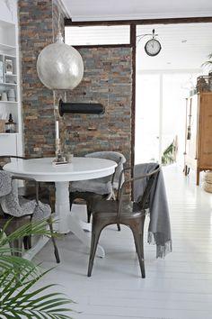 Testing av nytt kjøkkenbord