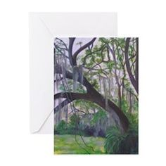 IN THE FOREST Greeting Cards