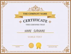 Here is Certificate Templates Free for you. Certificate Templates Free free templates for awards raptorredminico. Certificate Design Online, Free Printable Certificate Templates, Certificate Of Completion Template, Certificate Design Template, Templates Free, Certificate Format, Design Templates, Certificate Background, Certificate Of Appreciation