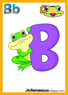 litera b | Fise de lucru - gradinita