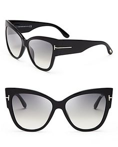 0334eb3e71fa Tom Ford Anoushka Cat Eye Sunglasses