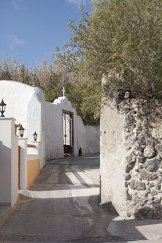 Karterados Village, Santorini Greece