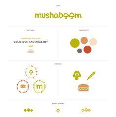 Mushaboom || style guide || brand board