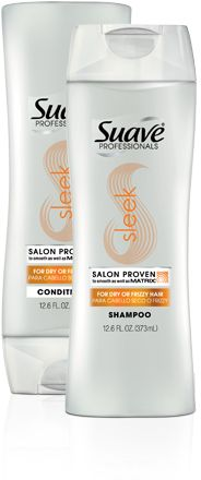 Suave Professionals Sleek. My hair has never been this easy to brush! I've been using this for months and the results are outstanding. inexpensive and awesome stuff.