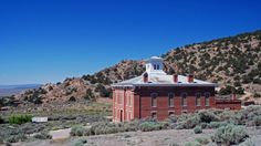 The ghost town of Belmont is located 45 miles northeast of Tonopah via U.S. 6, State Route 376 and Monitor Valley Road. Please be aware ther...