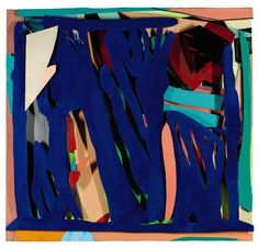 Tom Wesselmann, 'Blue', 1996 Oil on cut-out aluminium