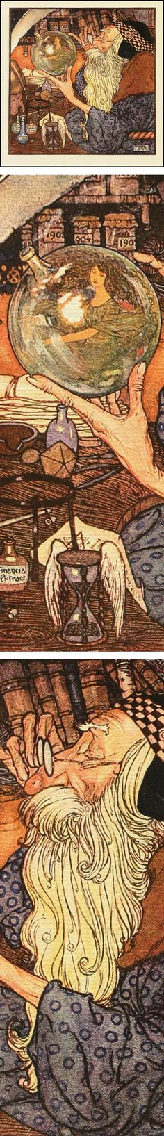 Lines and Colors: a blog about drawing, painting, illustration, comics, concept art and other visual arts » Eye Candy for Today: Dulac's Father Time