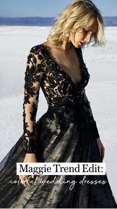 Lace Wedding Dress, Black Wedding Dresses, Bridal Dresses, Wedding Gowns, Designer Gowns, Designer Wedding Dresses, Black Halloween Dress, Sottero And Midgley Wedding Dresses, Sottero Midgley