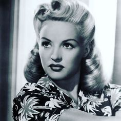 Betty Grable, the original pin up girl