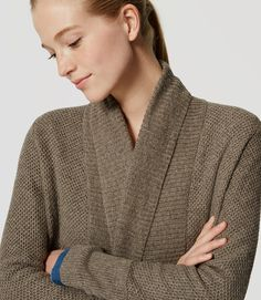 Thumbnail Image of Color Swatch 7415 Image of Shawl Open Cardigan
