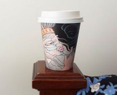 I love that BioCup are decorating our coffee and tea vessels with some funky prints. This one is Spiritseeker by Rebecca Murphy , featuring a cameo by my silk kimono. Melbourne Coffee, Melbourne Food, Bobbing For Apples, Cup Art, Silk Kimono, Coffee Art, Graphic Design, Tea, Decorating