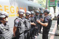 Tribratanews.com - Kepolisian Resor Kuningan, Jawa Barat, melakukan sterilisasi sejumlah gereja dengan