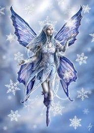 Fantasy Art - Snow Fairy by Anne Stokes Anne Stokes, Snow Fairy, Winter Fairy, Winter Magic, Fantasy Kunst, Fantasy Art, Fantasy Fairies, Unicorn Fantasy, Fantasy Fiction