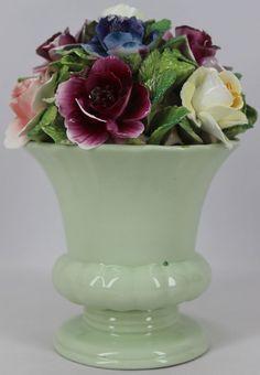 "Vintage Thorley Staffordshire England English Bone China Flower Bouquet 8"" Tall"