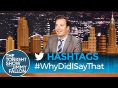 #WhyDidISayThat: Another Hashtag Winner for Jimmy Fallon - Page 3 of 3