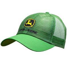 John Deere Classic Logo Mesh Cap