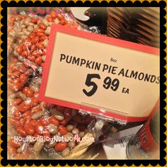 Pumpkin Pie Almonds Distributed by The Fresh Market 628 Green Valley Road, Suite 500 Greensboro, NC 27408 Tel: 66 817.4367