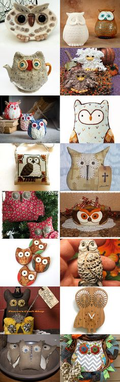What a Hoot by Charlotte Colistro Brown on Etsy--Pinned with TreasuryPin.com