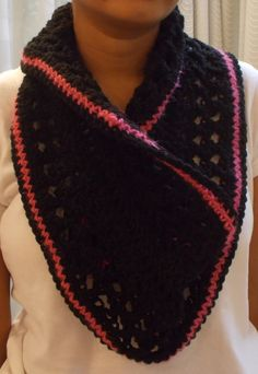 The CROSSED OVER MOBIUS COWL - my original pattern. Download pattern now at http://www.craftsy.com/user/2573073/pattern-store?_ct=cx-buvjdql&_ctp=my-pattern-store,manage