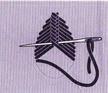 Les points de croix en broderie - La Boutique du Tricot et des Loisirs Créatifs Floral Embroidery Patterns, Embroidery Stitches Tutorial, Iron On Embroidery, Hand Embroidery Designs, Embroidery Kits, Ribbon Embroidery, Cross Stitch Embroidery, Simple Embroidery, Beginning Embroidery