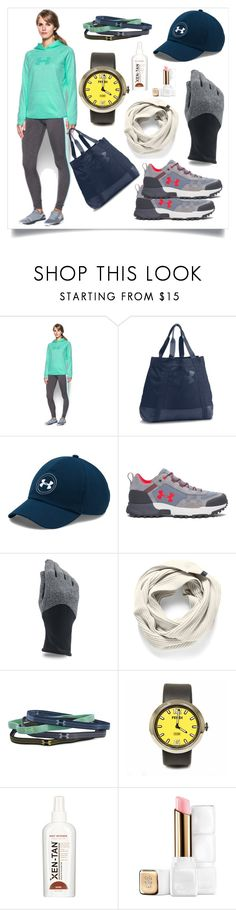 """""""Twist Hoodie..**"""" by yagna ❤ liked on Polyvore featuring Under Armour, Fendi, Xen-Tan and Guerlain"""