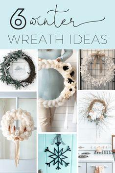 Wood Snowflake, Snowflake Wreath, Pom Pom Wreath, Diy Wreath, Wreath Ideas, Stick Wreath, Wreath Crafts, Yarn Crafts, Paper Flower Wreaths