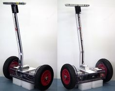 Self-balancing transport is Arduino-controlled Arduino Clone, Hobby Electronics, Electronics Projects, Arduino Projects, Diy Projects, Mechanical Engineering Projects, Digital Fabrication, Fun Hobbies, Gadgets And Gizmos