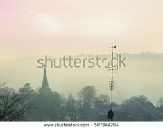 Norwegian town Larvik in the morning mist. Winter of autumn landscape or cityscape. Mists, Norway, Autumn, Landscape, Winter, Movie Posters, Image, Art, Winter Time