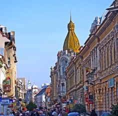 Architecture in Oradea Romania