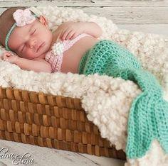 Mermaid baby ✌❤