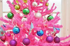 christmastree pink