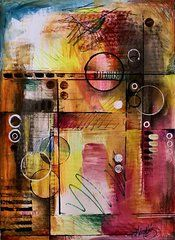 Abstract Design 82 by Michael Lang - Abstract Design 82 Painting - Abstract Design 82 Fine Art Prints and Posters for Sale Ap Studio Art, Jackson Pollock, Art Journal Inspiration, Art Pages, All Art, Collage Art, Amazing Art, Fine Art America, Modern Art