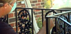 painted iron railings for porch | ... on Repairing and Painting Wrought Iron Handrails to find out more
