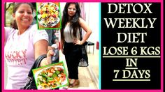 7 Days Detox Diet Plan: How To Lose Weight 1KG in 1 Day | Weight Loss Sa...